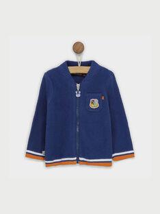 Violet blue Waistcoat RAALFREDO / 19E1BG21GIL221