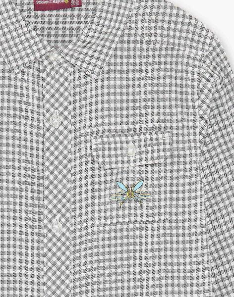 Children's boy's shirt ZAZAGE / 21E3PG91CHM001