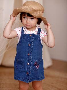Baby girl jeans dress ZAFLORIANE / 21E1BFB1CHSP269