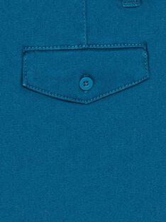 Blue barmuda with belt ZADRAKAGEX / 21E3PGJ3BER202