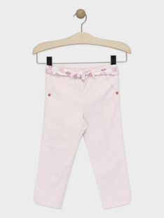 Baby rose Cropped TYAKETTE / 20E2PF11PCO307