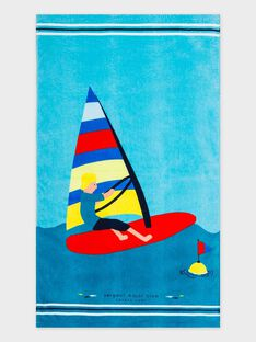 Pale turquoise Towel RUSERVAGE / 19E4PGN1SRV203