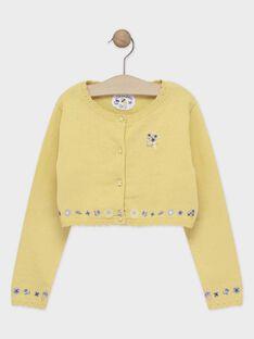 Pale yellow Cardigan TOICAETTE / 20E2PFO1CAR103