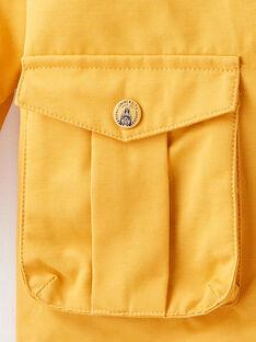 Golden yellow PARKA VUPARKAGE / 20H3PG81PAR106