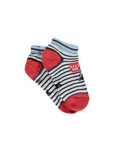 Off white Low socks RIQUINAGE / 19E4PGE2SOB001