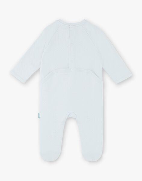 Baby boy blue romper ZEBARAK / 21E5BG11GRE213