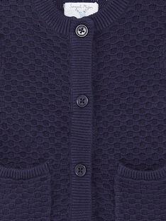 Baby boy navy blue vest ZAOUSMAN / 21E1BGT2GILC214