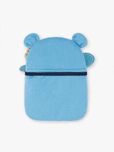 Blue fancy pyjamas with pocket and mask child boy ZIPIMAGE3 / 21E5PGF3PYT702