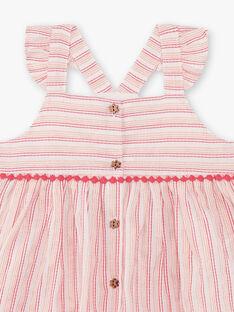 Baby rose DRESS ZAQUEEN / 21E1BFV1ROB307