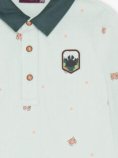 Child boy polo shirt ZADOAGE / 21E3PG71POLG619