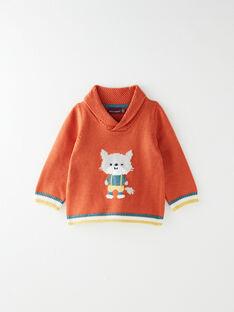 Dark orange PULLOVER VAJACQUES / 20H1BGM1PUL408