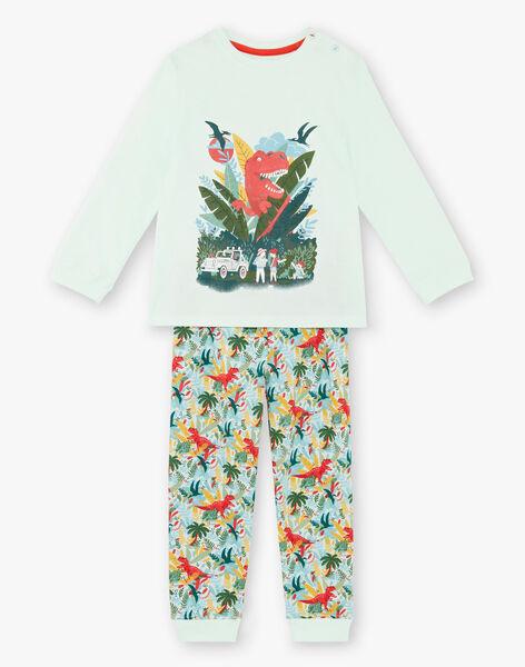 Pyjamas with phosphorescent details for children and boys ZEBRANCHAGE / 21E5PG11PYJ614