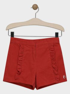 Orange Shorts SUBALETTE / 19H2PFC1SHOE406