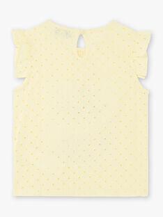 Yellow T-SHIRT ZILEMETTE / 21E2PFO1TMCB104