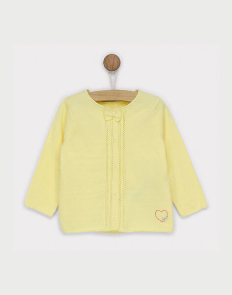 Yellow Cardigan RYAUDREY / 19E0CF11CAR010