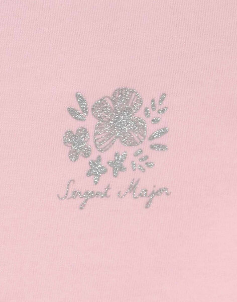 Clear pink T-shirt RUFAPETTE 4 / 19E2PFP2TMC321