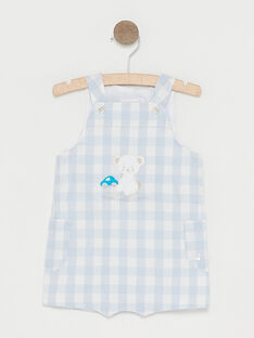 Water blue Short Overalls TUVOUKI / 20E0CGR2SAC213