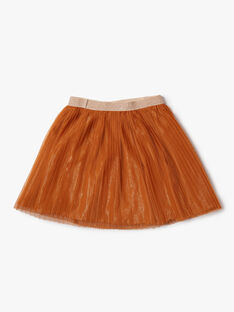 Light brown SKIRT VOULOETTE / 20H2PFY1JUP804