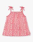 Pink tank top child girl ZLYNETTE1 / 21E2PFL2DEB304