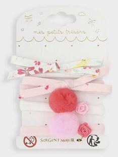 Clear pink Hair elastic TYNOUETTE / 20E4PFKBELA321
