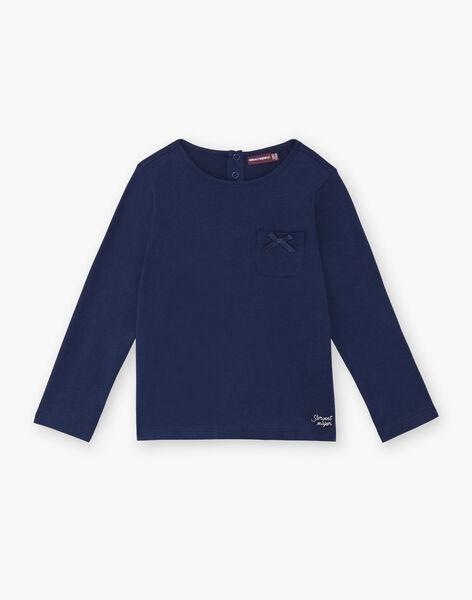 T-shirt long sleeves child girl ZLABETTE 1 / 21E2PFK1TMLC214