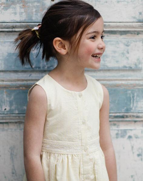 Yellow CHASUBLE DRESS ZIRAYETTE / 21E2PFO2CHSB104
