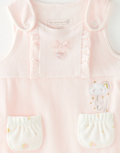 Pale rose SET VICTORIANE / 20H0NF12ENS301