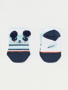 Blue Low socks TAPOL / 20E4BGP1SOBC200