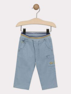 Greyish blue pants SAKURTY / 19H1BG61PAN205