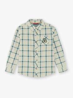 Children's boy's shirt ZACLAGE / 21E3PG71CHMG619