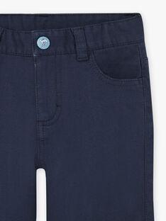 Boy's blue night pants BIOXIAGE / 21H3PGL1PANC205