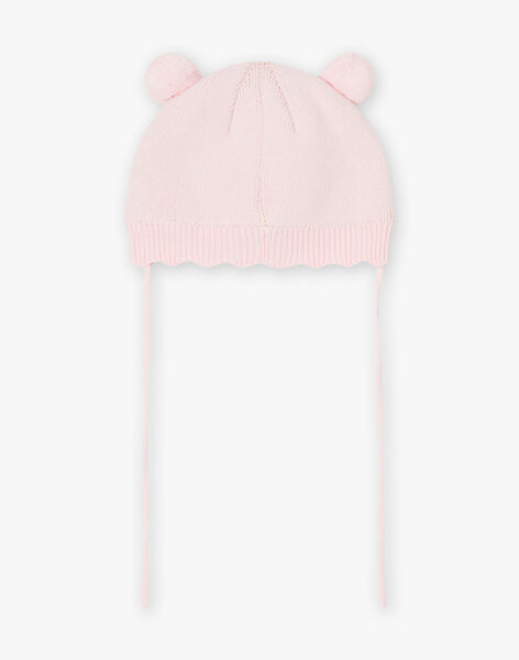 Baby girl light pink animal hat BIPRUNELLE / 21H4BFD2BON321