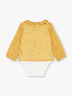 Imperial yellow body-blouse child girl ZADINA / 21E1BF91BODB114