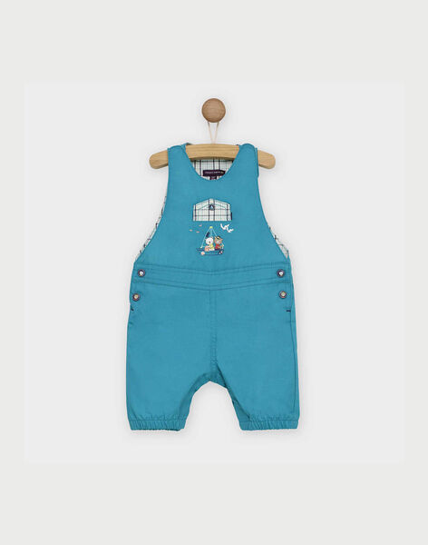 Turquoise Short Overalls RAGARY / 19E1BGD2SAC202