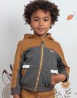 Boy's Two-tone Zip Hoodie BIABAGE / 21H3PGJ1GIL944