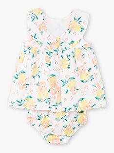White DRESS ZANOEMIE / 21E1BFO1ROB000