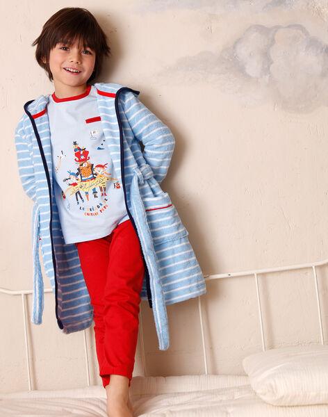 Children's blue bathrobe boy ZEPEIGNAGE / 21E5PG11PEIC218