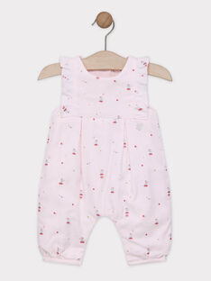 Frilled overalls SYALICIA / 19H0CF11SAL301