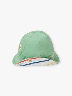 Baby Boy Reversible Green and White Hat TARYAD / 20E4BGQ1CHA611