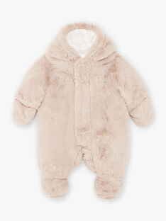 Beige pilot in faux fur teddy bear birth mixed BOURBEAU / 21H0CMK1PIL806