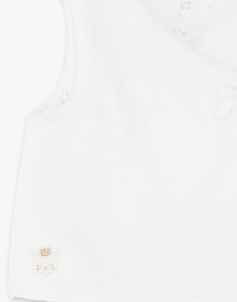 White SLEEVELESS CARDIGAN ZOLOUISE / 21E0CFG1CSM000