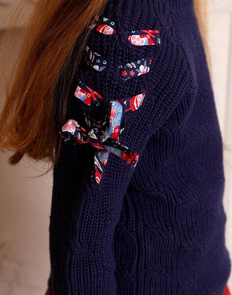 Blue sweater horizon child girl ZOPULETTE 2 / 21E2PFB2PUL216