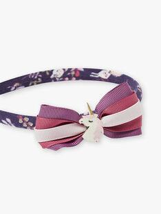 Purple HEADBAND VLITETTE / 20H4PFH2TET718