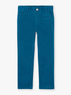 Blue pants with belt ZADRAKAGE / 21E3PGJ2PAN202