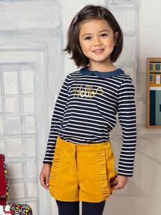 Girl's yellow shorts BIKIETTE / 21H2PF51SHO109