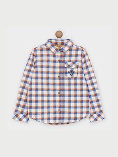 Water blue Shirt RABIONAGE / 19E3PG41CHM213