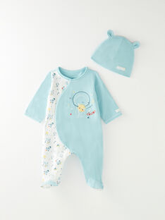 Pale turquoise ROMPER VITTORIOEX / 20H0NG11GRE203