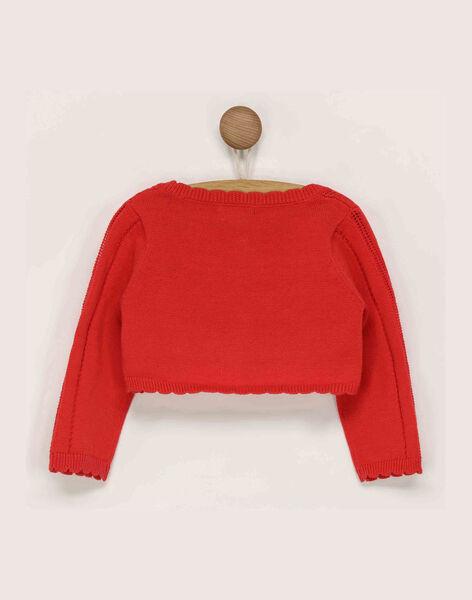 Red Cardigan RAMARION / 19E1BFE1CAR050
