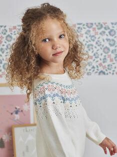 Girl's long sleeve jacquard dress BLAZETTE / 21H2PFO2ROB001