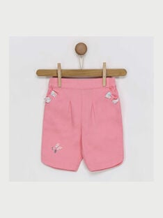 Light rose Cropped RAKAMILLE / 19E1BFF1PCO318